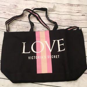 NWT Victoria's Secret canvas tote